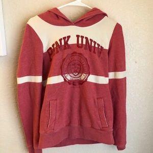 Pink VS 2002 vintage University hoodie🎞